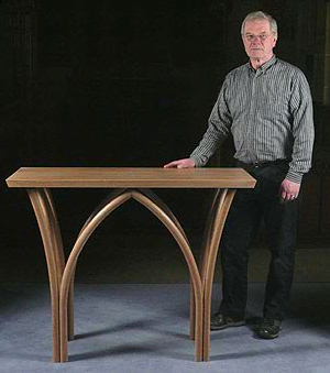 Ronald Emett bespoke hand made church furniture - gallery showing my church furniture designs