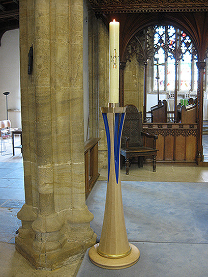 St Mary's Church, Beaminster, Dorset - Paschal candle stand